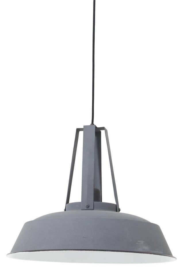 Davidi Design Inez goedkope hanglamp Donkergrijs Large
