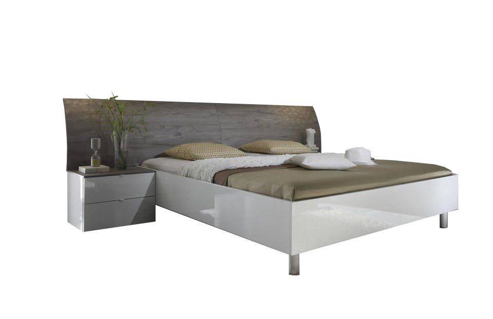 Benvenuto Design Mela Bed Grijs Eiken 160x200
