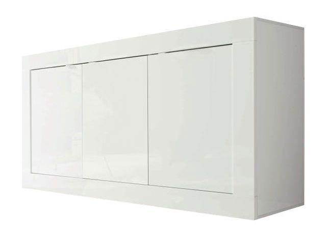 woonkamer Benvenuto Design Modena Dressoir Small HG Wit