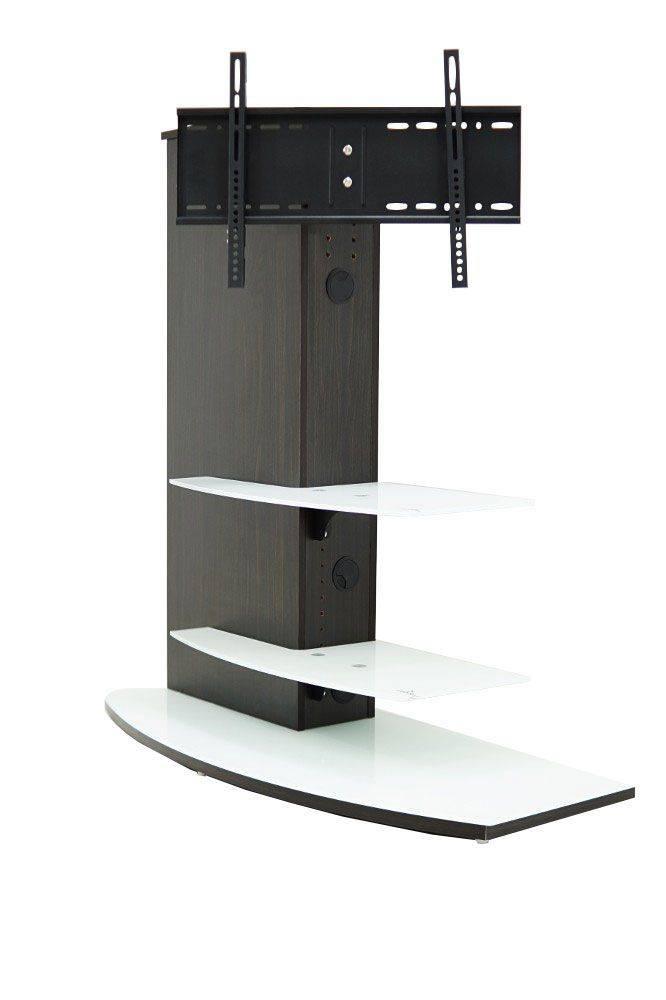 woonkamer Casado Almeria TV meubel Wenge Wit glas