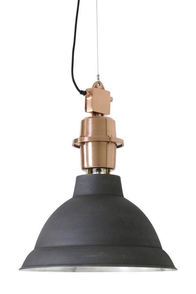 Davidi Design Lincoln goedkope hanglamp Zwart Koper