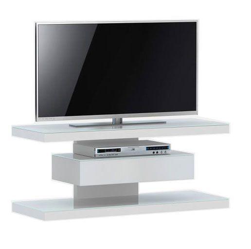 woonkamer Jahnke Moebel SL 610 TV meubel Wit