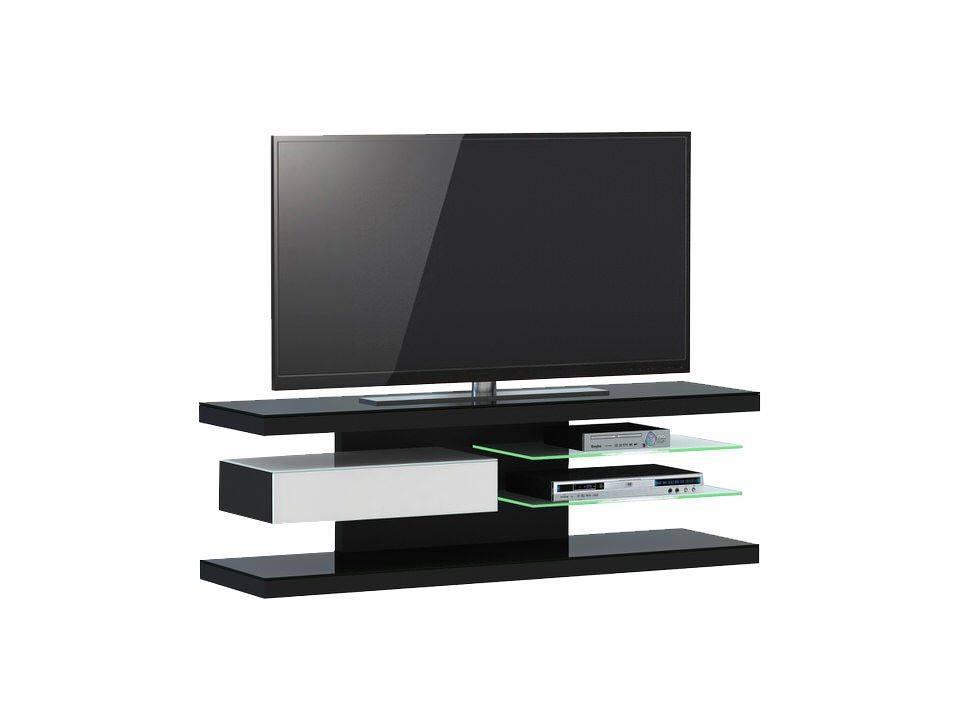 woonkamer Jahnke Moebel TV meubel SL 660 LED Zwart Wit