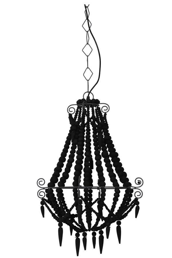 Davidi Design Luca goedkope hanglamp Medium Zwart