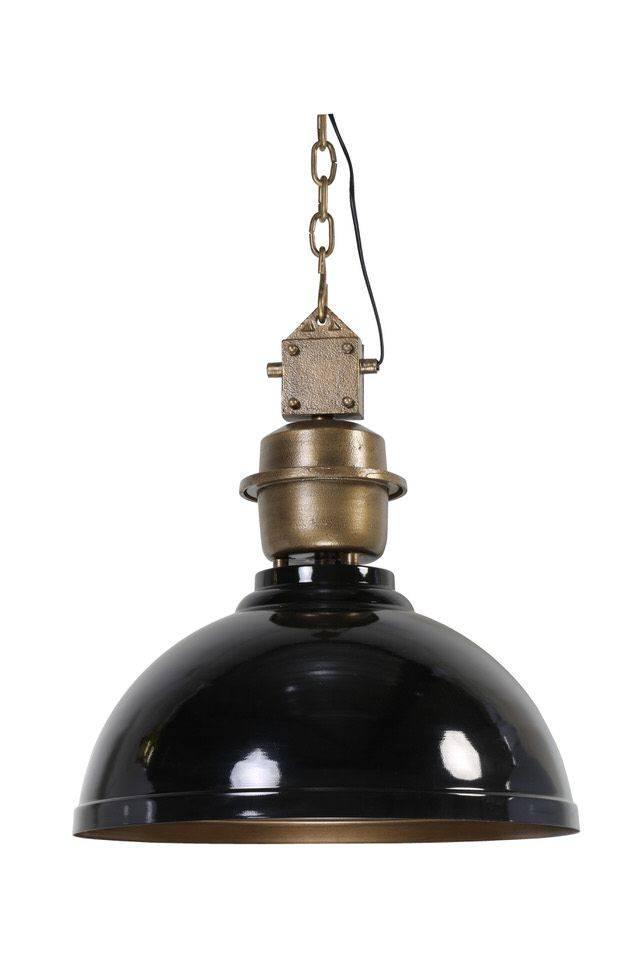 Davidi Design Clinton goedkope hanglamp Zwart Brons Large