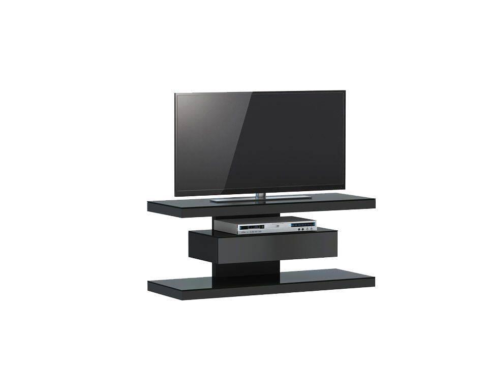woonkamer Jahnke Moebel SL 610 TV meubel Zwart
