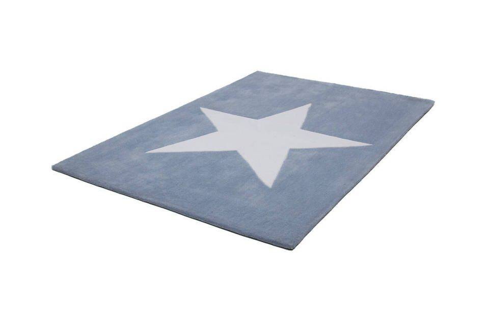 woonkamer Lalee Exclusive Dream Vloerkleed Pastelblauw 700