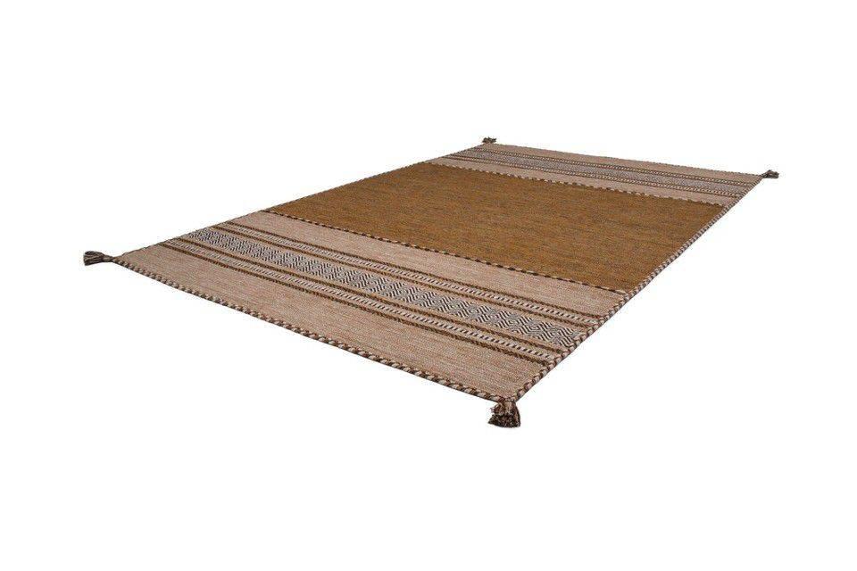 woonkamer Kayoom Alhambra Vloerkleed 80x150 Bruin