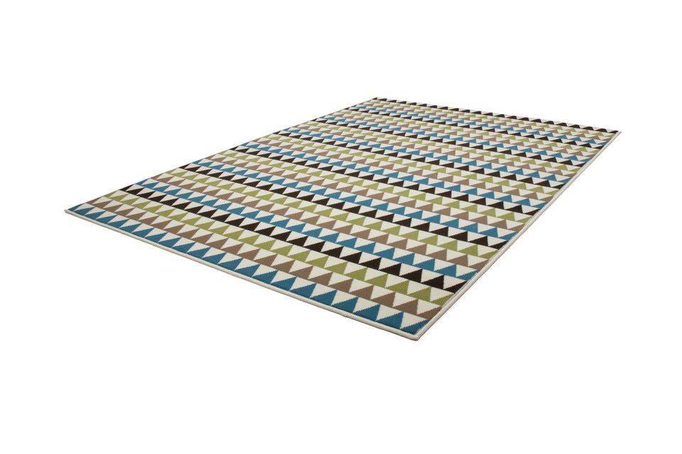 woonkamer Kayoom Now Vloerkleed 80x150 Multi Groen