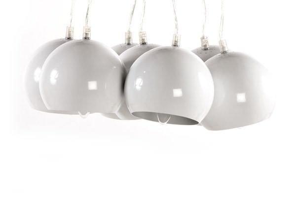 Bondy Living Siegen goedkope hanglamp Wit