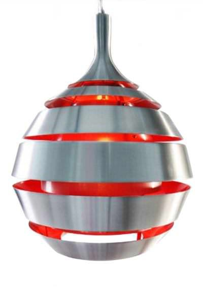Bondy Living Jaipur goedkope hanglamp Rood