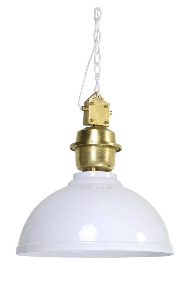 Davidi Design Clinton goedkope hanglamp Wit Goud Large