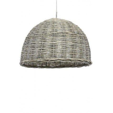 Davidi Design Rotan goedkope hanglamp Grijs Large