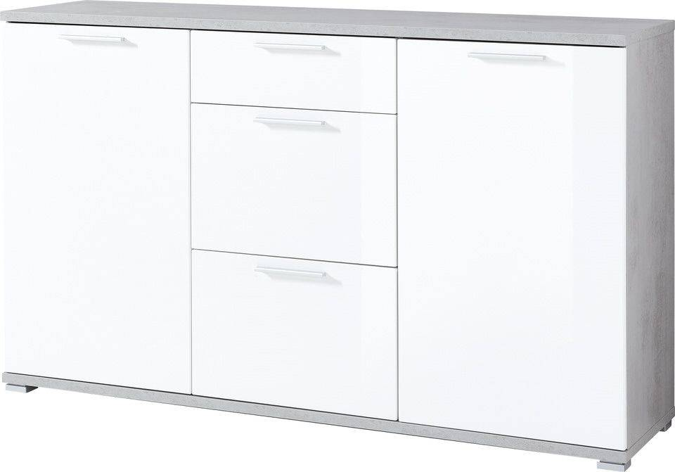 woonkamer Germania Almeria Dressoir Beton Small