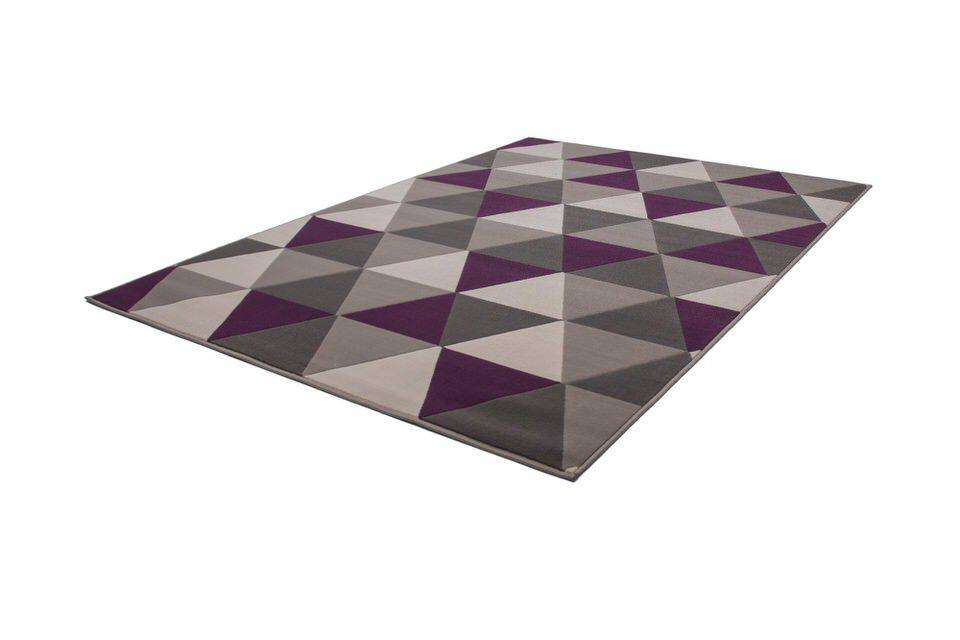 woonkamer Kayoom Now Vloerkleed 160x230 Violet