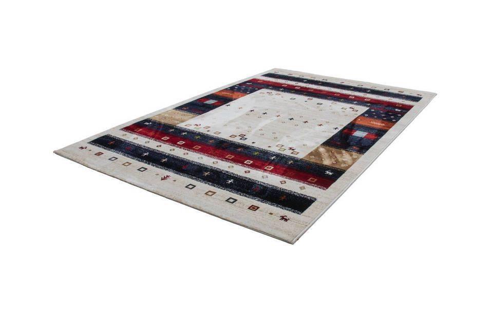 woonkamer Kayoom Atlas Vloerkleed 120x170 Creme
