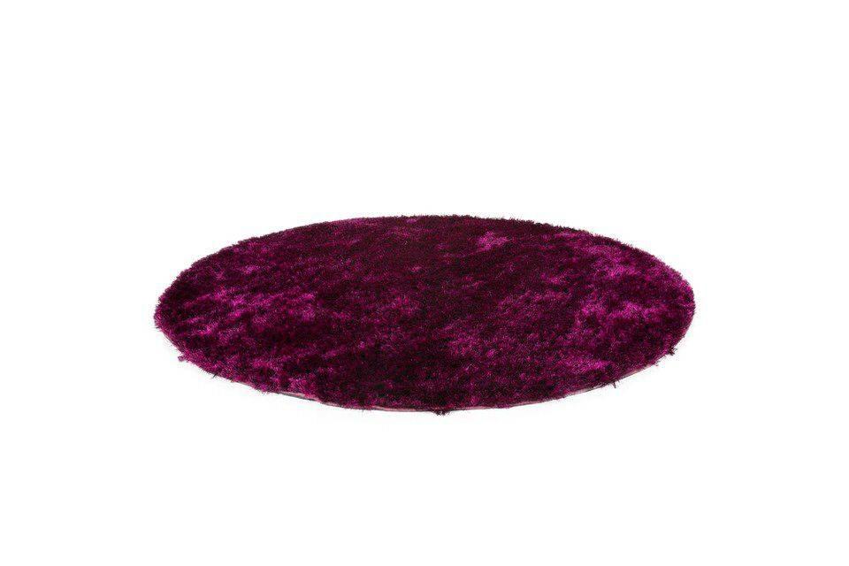 woonkamer Kayoom Diamond Vloerkleed Ø 200 Violet