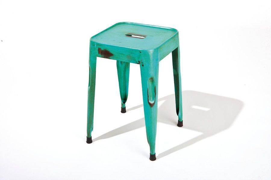 woonkamer Interlink SAS Melange Krukken 4x Turquoise