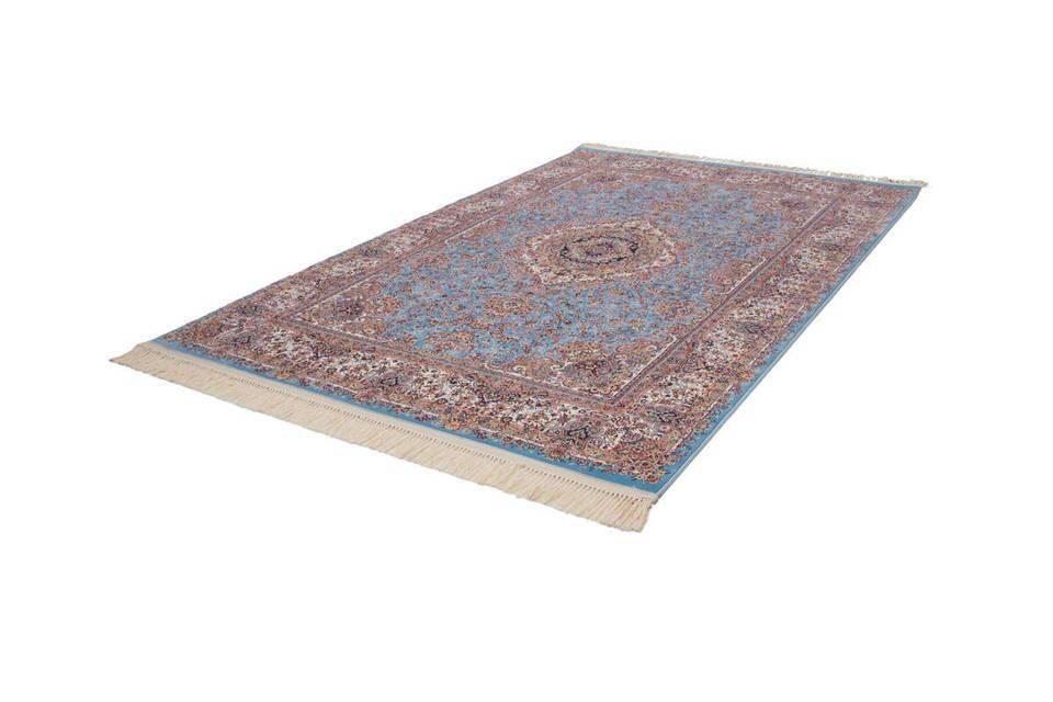 woonkamer Lalee Isfahan Vloerkleed 80x150 Blauw