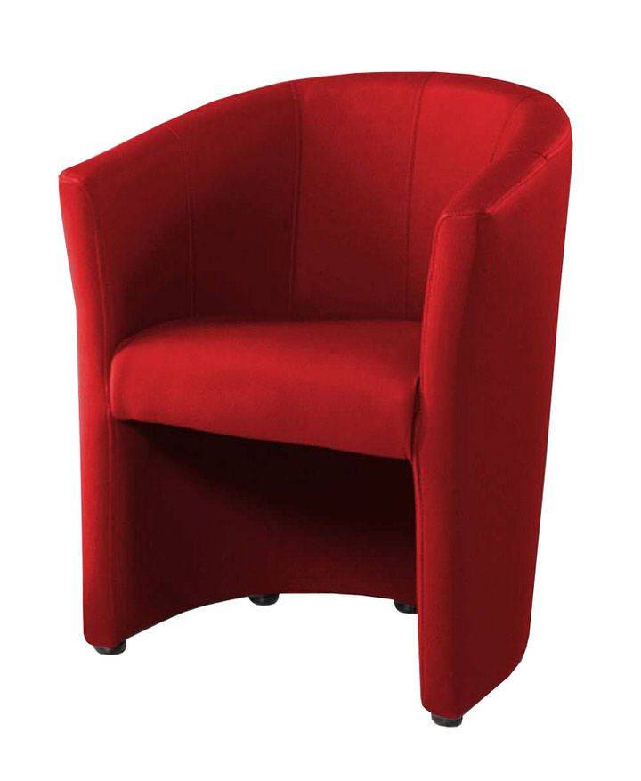 woonkamer Monaica Charlie Fauteuil Rood
