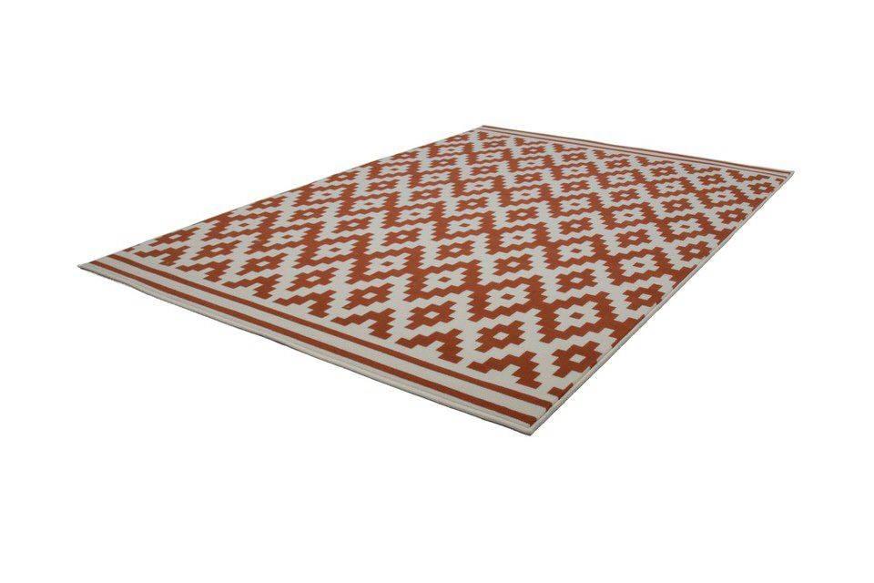 woonkamer Kayoom Now Vloerkleed 160x230 Oranje