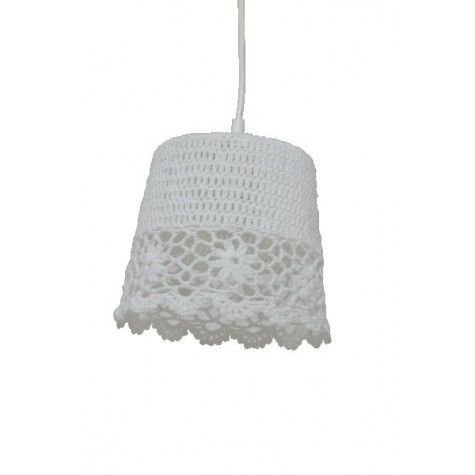 Davidi Design Knit goedkope hanglamp Wit