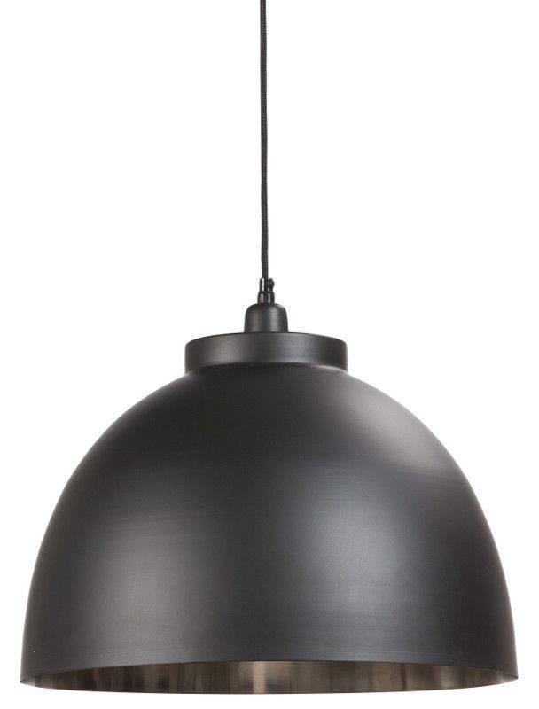 Davidi Design Kylie goedkope hanglamp Zwart Nikkel Medium
