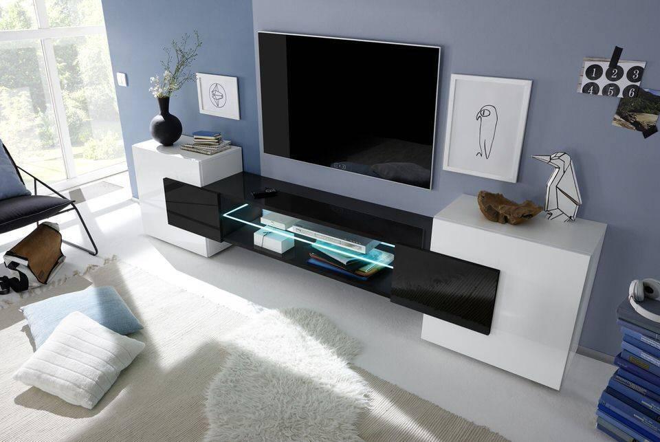 woonkamer Benvenuto Design Sandrino TV meubel Zwart