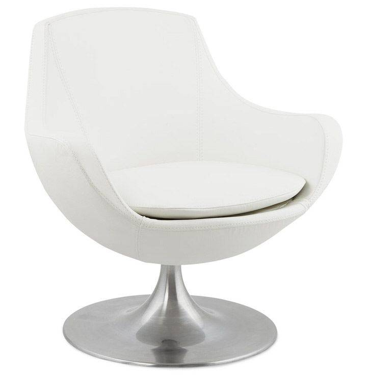 woonkamer Bondy Living Elam Fauteuil Wit