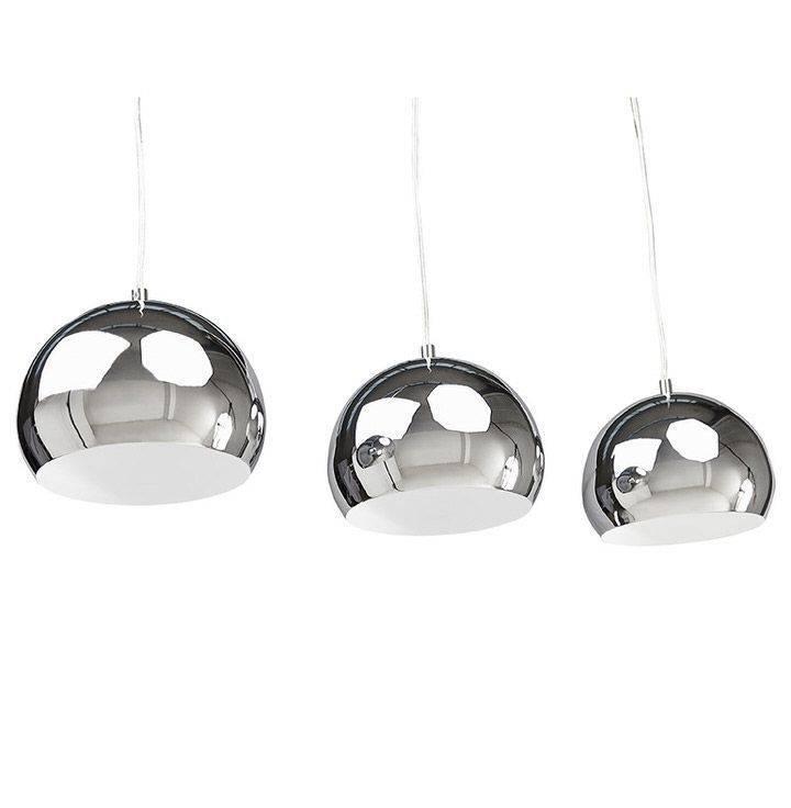 Bondy Living Dusty goedkope hanglamp Chroom