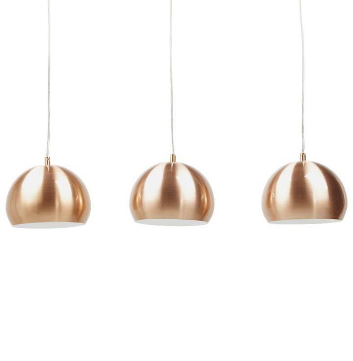 Bondy Living Dusty goedkope hanglamp Koper