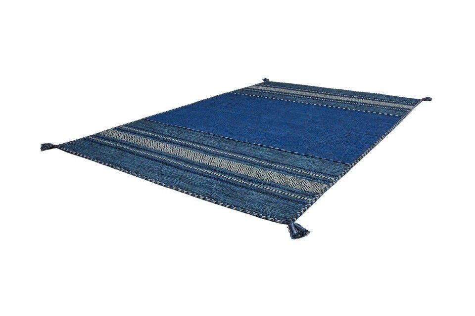 woonkamer Kayoom Alhambra Vloerkleed 120x170 Blauw
