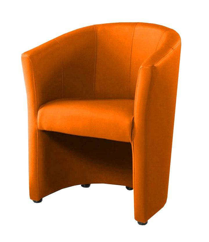woonkamer Monaica Charlie Fauteuil Oranje