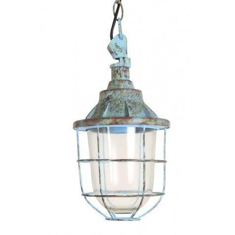 LivLight Quarry goedkope hanglamp Blauw Small