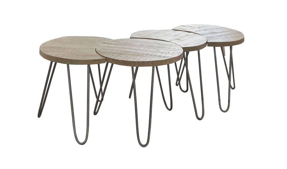 woonkamer Davidi Design Lenna Salontafel Set Blank