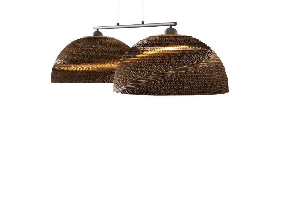 Davidi Design Cody goedkope hanglamp Medium Bruin
