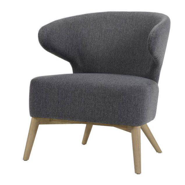 woonkamer Davidi Design Roza Fauteuil Staalgrijs