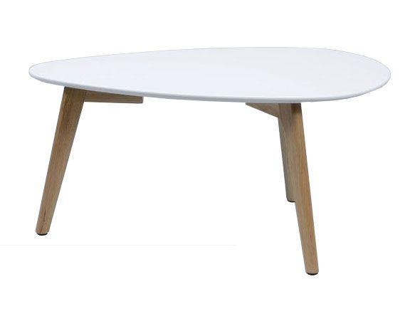 woonkamer Davidi Design Juno Salontafel Small Wit