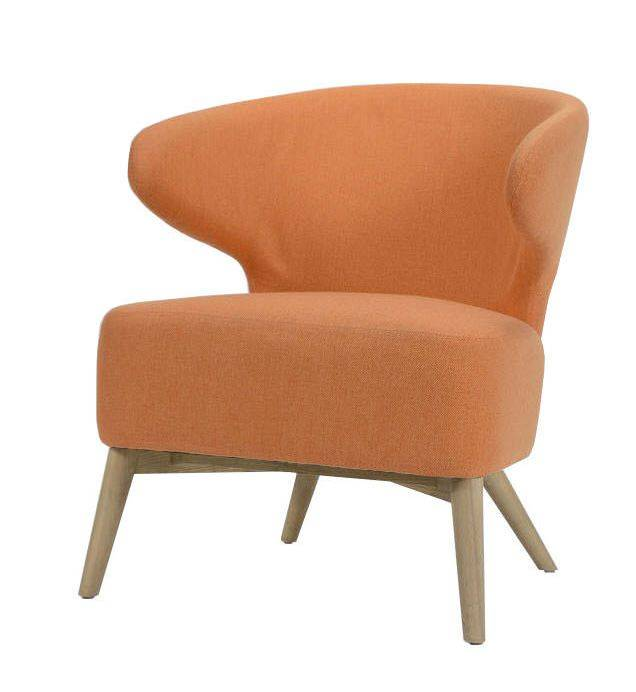 woonkamer Davidi Design Roza Fauteuil Oranje