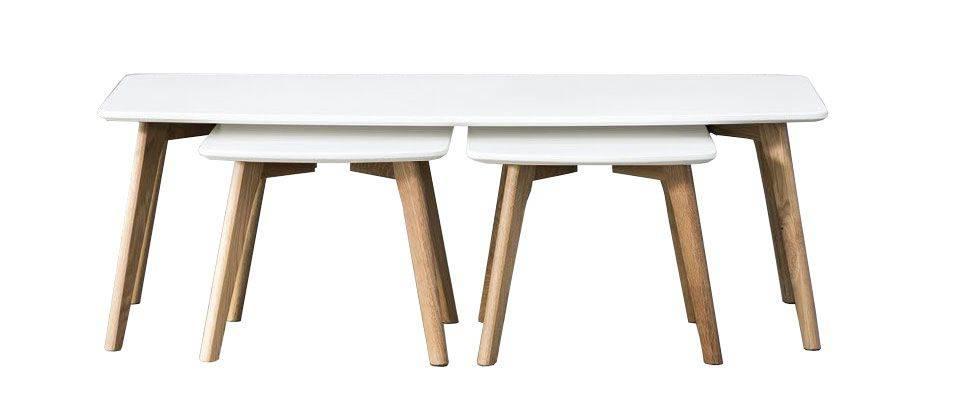 woonkamer Davidi Design Logan Salontafel Wit