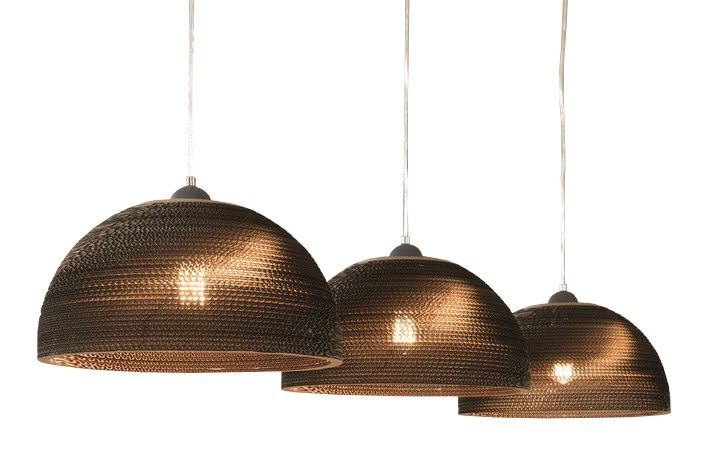 Davidi Design Evan goedkope hanglamp Bruin