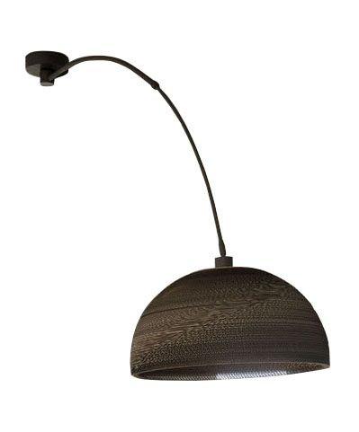 Davidi Design Dalton goedkope hanglamp Bruin