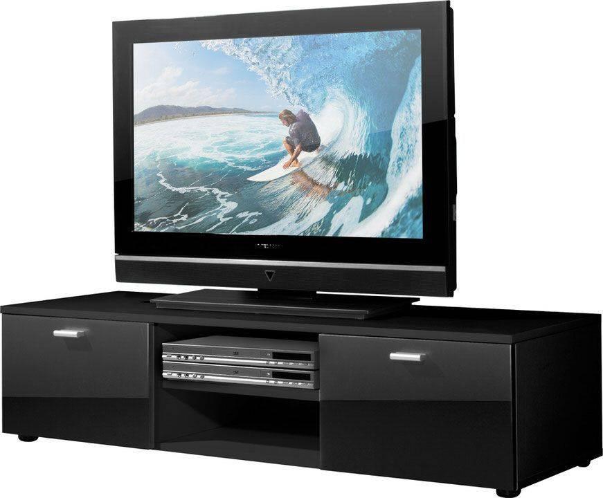 woonkamer Germania Niven TV meubel HG Zwart
