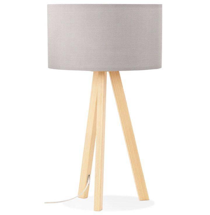 Bondy Living Bianca  tafellamp goedkoop Grijs