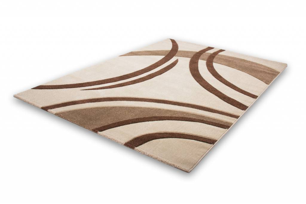 woonkamer Lalee Havanna Design Vloerkleed 80x150 Ivory 409