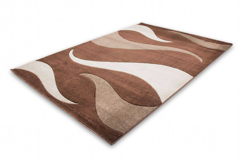 woonkamer Lalee Havanna Design Vloerkleed 120x170 Koffie 406