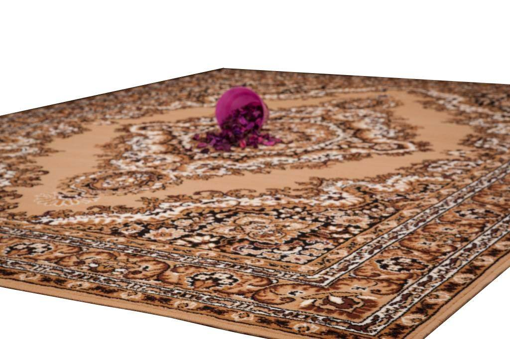 woonkamer Lalee Sahara Vloerkleed 190x280 Beige 102