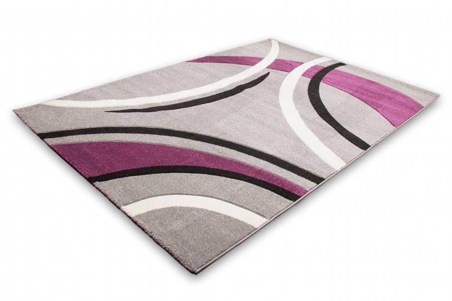 woonkamer Lalee Havanna Design Vloerkleed 80x150 Zilver 409