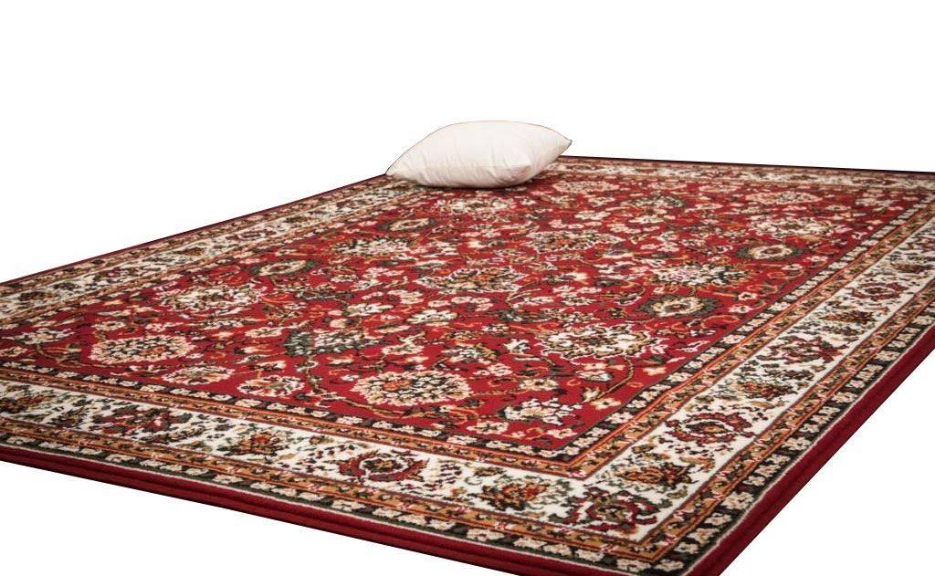 woonkamer Lalee Sahara Vloerkleed 240x330 Rood 117