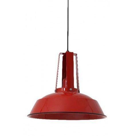 Davidi Design Inez goedkope hanglamp Rood Small